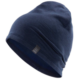 heron beanie tarn blue