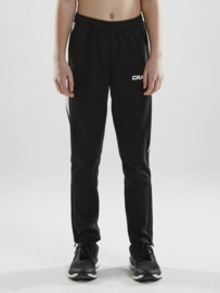 pro control pants jr black/white