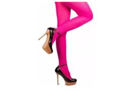Gekleurde panty, roze.