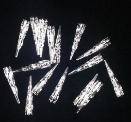 Verenpuntjes zilver