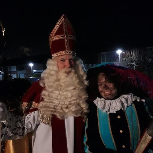 Sint & Piet op bezoek