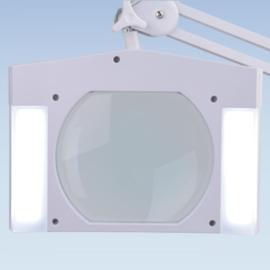 Loeplamp 190x157mm lens, 5 dioptrie, 60 LED, DIMBAAR