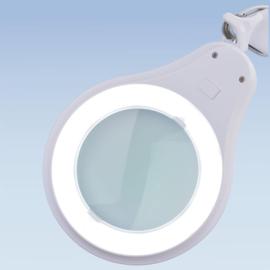 Loeplamp 125mm lens, 8 dioptrie, 60LED, dimbaar 5234