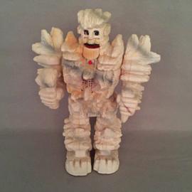 "Robot Starriors Stoneman ""Wukaya Kahama I am Stone King"""