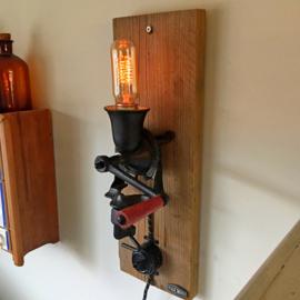 Coffee Grinder Wall Lamp