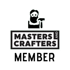 Proud member of Masters and Crafters