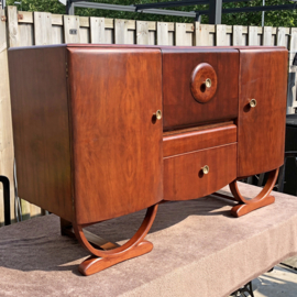 Restauratie Art Deco 1930 Beautility cabinet
