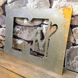 1980 Original MTV Graffiti mold