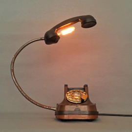 Upcycled Vintage Phone lamp *SOLD*