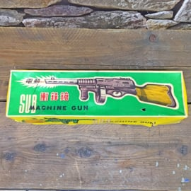 Vintage Ray Gun Sub Machine Gun, China 1960