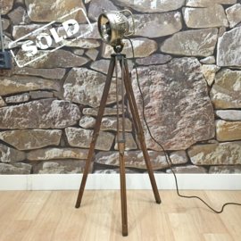 Phares Auteroche Tripod lamp 1910 SOLD