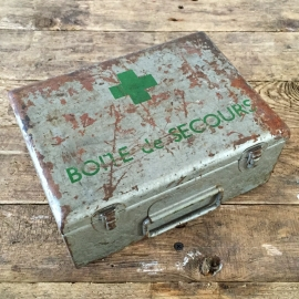 EHBO doos Frankrijk inclusief inhoud 1940