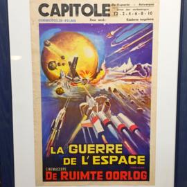Sci-fi film posters, Belgium 1970