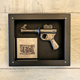 Buck Rogers XZ-35 Ray Gun in a shadowbox *Price on request*