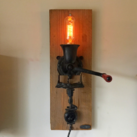 Coffee Grinder Wall Lamp