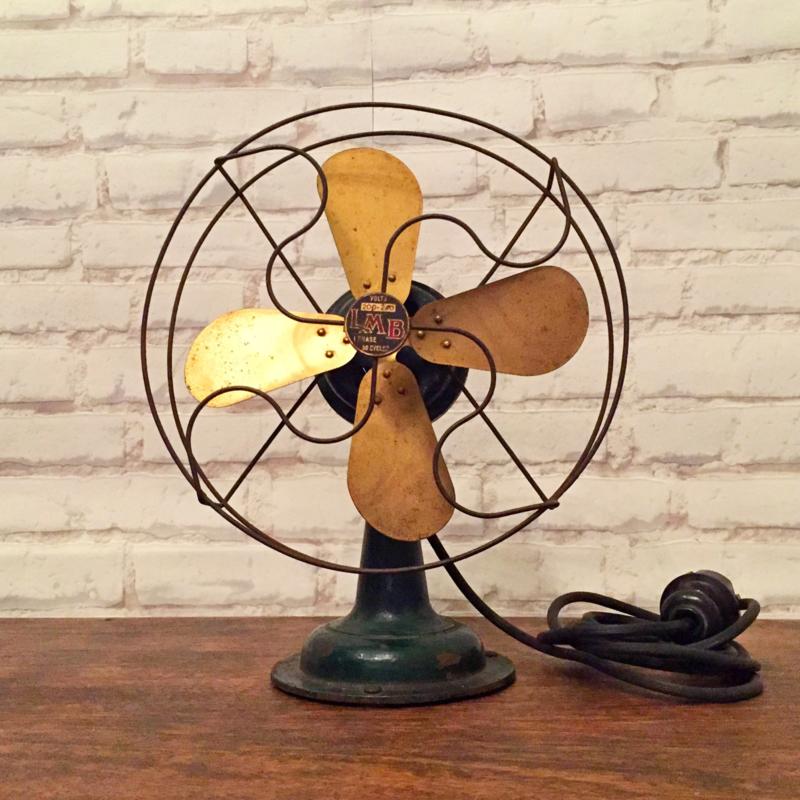 """LMB """"Dimestore Fan"""" uit 1930"""