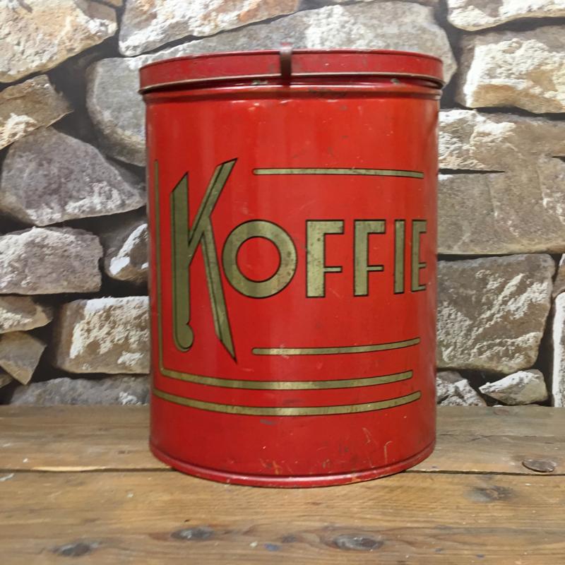 Huge vintage coffee can, dated 1930-40