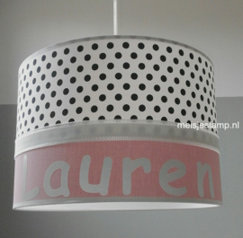 Meisjeslamp Lauren oudroze