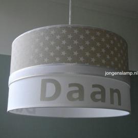 lamp kinderkamer Daan beige sterren