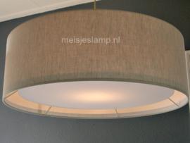 Hanglamp beige linnen