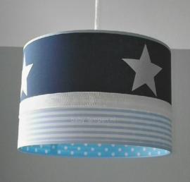 Lamp kinderkamer donkerblauw lichtblauw