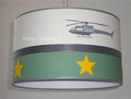 lamp kinderkamer helicopter gele sterren