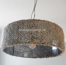 Hanglamp breisel op glas