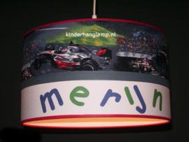 Lamp kinderkamer raceauto