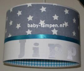 Lamp kinderkamer Jipp grijs blauw