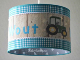 Lamp kinderkamer tractor Wout