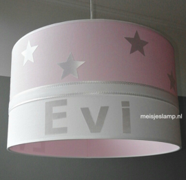 Roze meisjeslamp Evi
