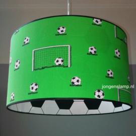 voetballamp groen