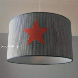 lamp kinderkamer 3x oranje sterren