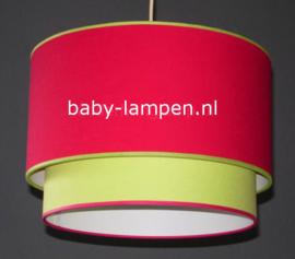 Lampen kinderkamer rood groen