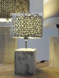gebreide lampenkapjes