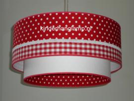 Lampen kinderkamer rood wit