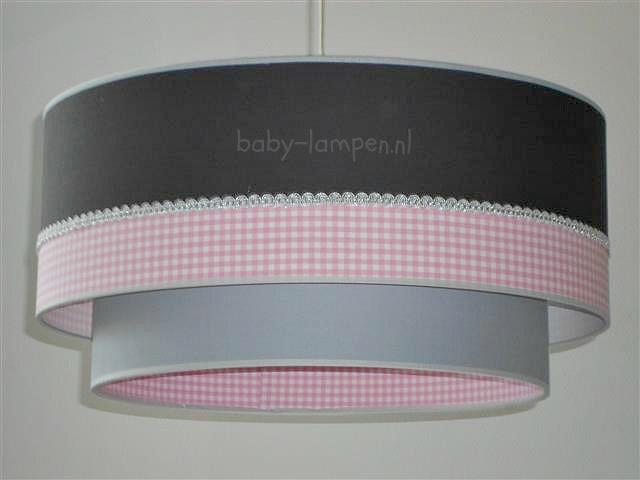 Lampen kinderkamer roze grijs