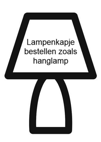 Lampenkapje voor staande voet