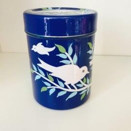 Blik blauw vogel