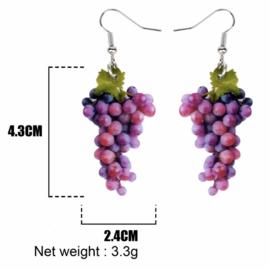 Oorbellen druiventros