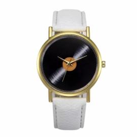 Horloge lp wit