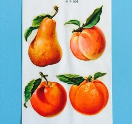 Decal 4 vruchten