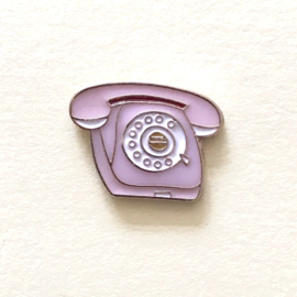Pin retro telefoon