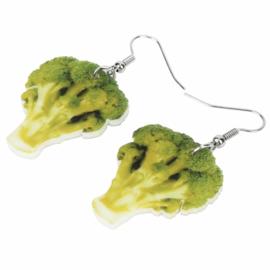 Oorbellen brocoli