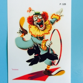 Decal clown 1