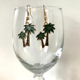 Oorbellen palmboom