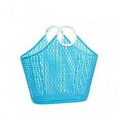 Kitsch Kitchen shopping basket blauw