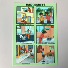 Kaartje bad habits