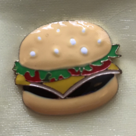 Pin hamburger