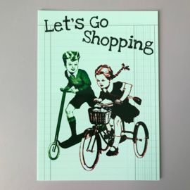 Kaartje let's go shopping